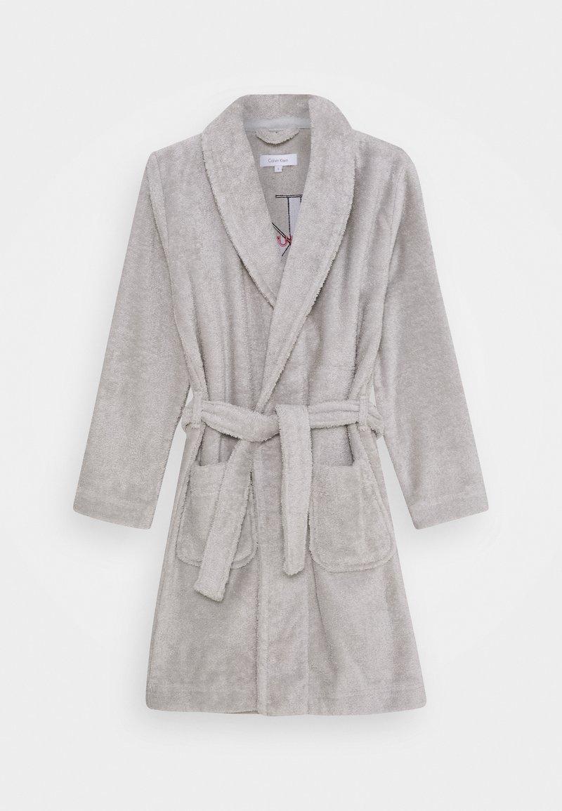 Calvin Klein Underwear - ROBE UNISEX - Župan - grey