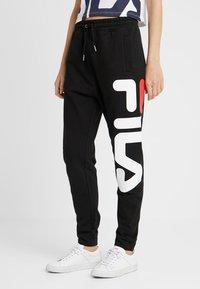 Fila Tall - PURE BASIC PANTS - Tracksuit bottoms - black - 0
