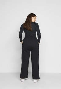 Even&Odd Curvy - Tracksuit bottoms - black - 2