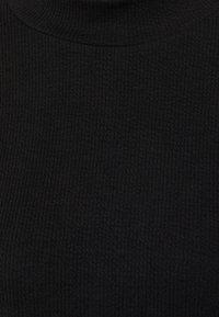 Vero Moda - VMALFIE DROP SHOULDER - Maglietta a manica lunga - black - 5
