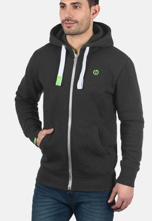 BENN - Zip-up hoodie - dark grey