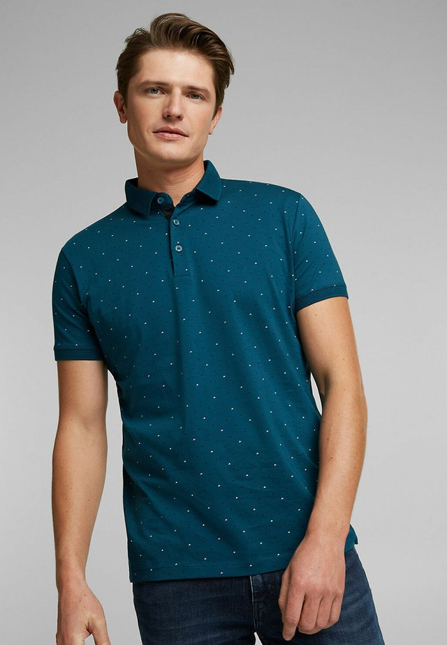 Poloshirt - teal blue