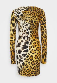 Just Cavalli - Žerzejové šaty - brown - 1