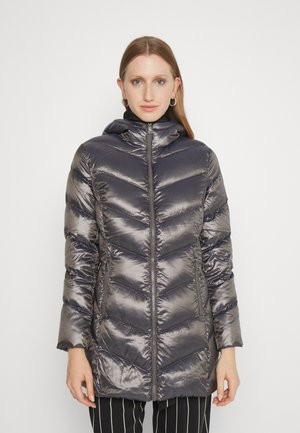 INSULATED COAT - Down coat - pewter