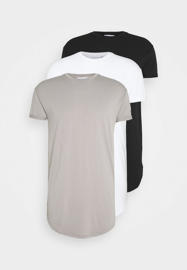 3 PACK - T-shirt - bas - multicolor