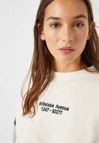 PULL&BEAR - Sweater - white - 4