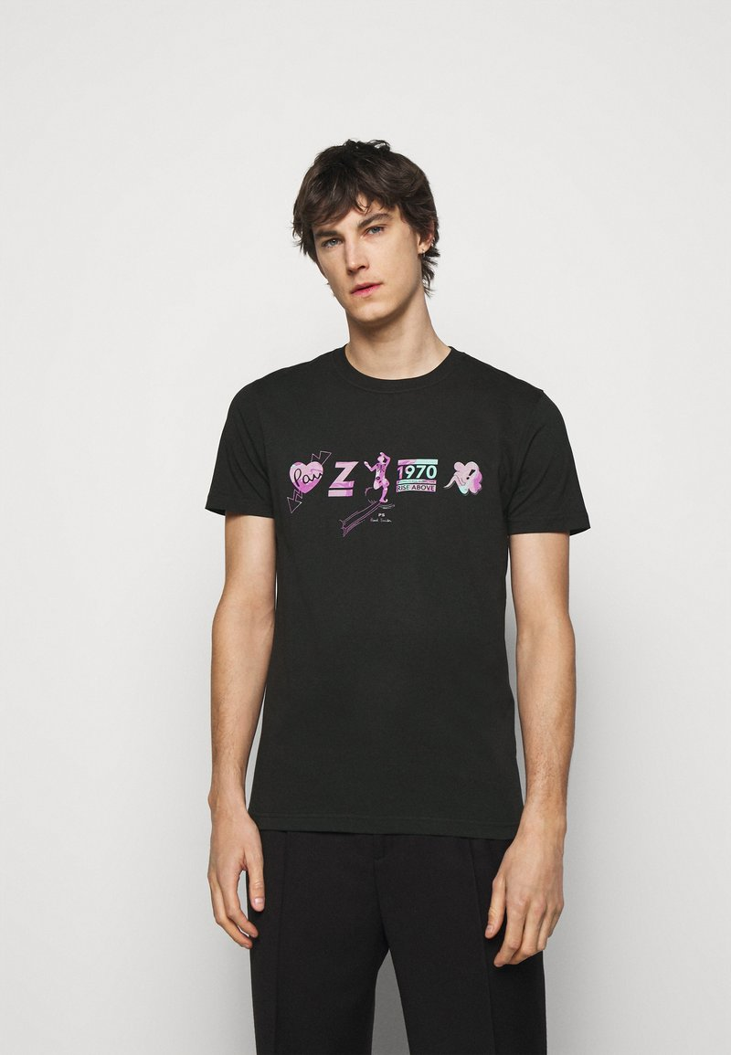PS Paul Smith - Print T-shirt - black