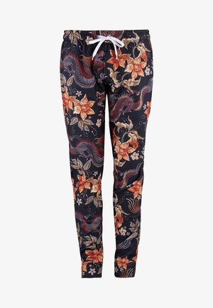 JAPANESE DRAGON  - Tracksuit bottoms - black