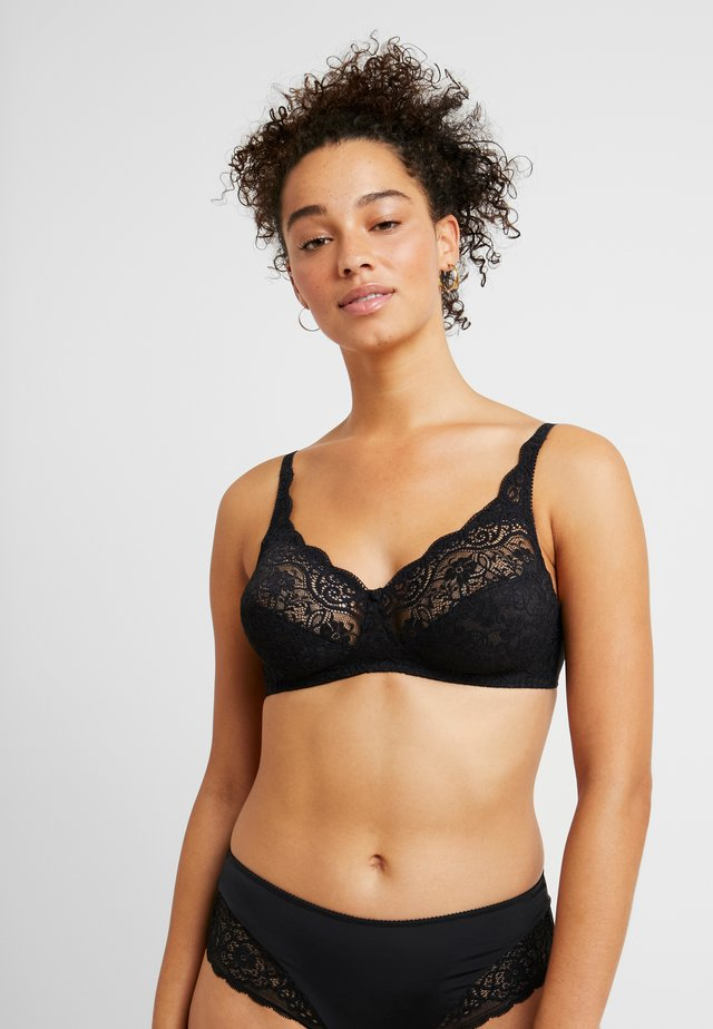 AMOURETTE - Triangel BH - black