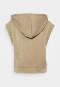 Pieces Petite - PCCHILLI  HOODIE - Sweatshirt - silver mink - 1