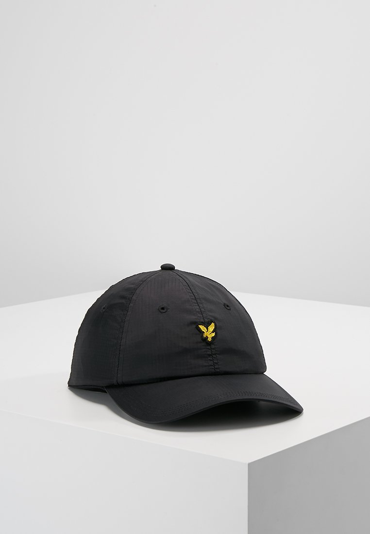 Lyle & Scott - RIPSTOP CAP - Kšiltovka - true black