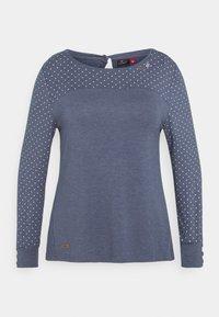 Ragwear Plus - MALITA PLUS - Topper langermet - blue - 0