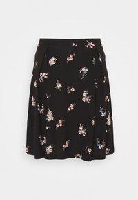 Even&Odd Tall - A-line skirt - black/multi-coloured - 1