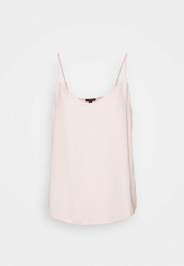 VNECK CAMISOLE - Toppi - subtle pink