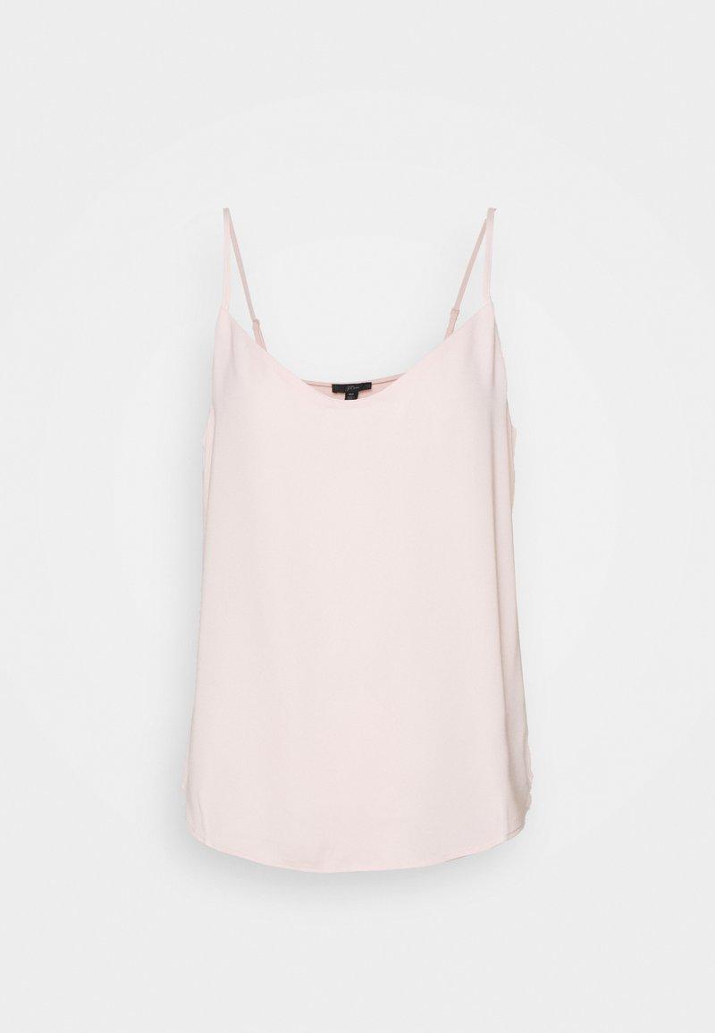 J.CREW PETITE - VNECK CAMISOLE - Top - subtle pink