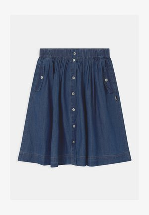 BOLETTE - Denim skirt - washed indigo
