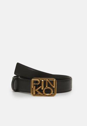 LOGO HIPS SIMPLY BELT ANTIQUE - Belte - black