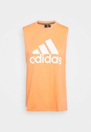 MUST HAVES SPORT REGULAR FIT TANK TOP - Treningsskjorter - ambtin/white