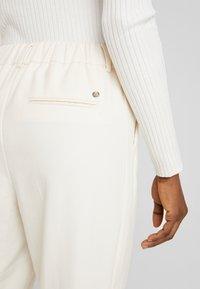 Mos Mosh - GERRY TWIGGY PANT - Pantalones - ecru - 5