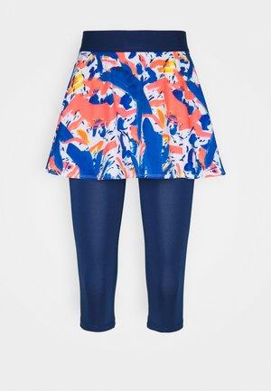FAIDA TECH SCAPRI - Sports skirt - dark blue/neon red