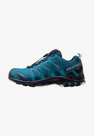 XA PRO 3D GTX - Trail running shoes - lyons blue/navy blazer/lunar rock
