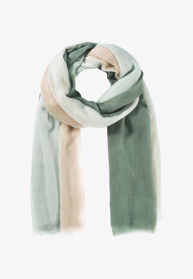 Schal - seegrün