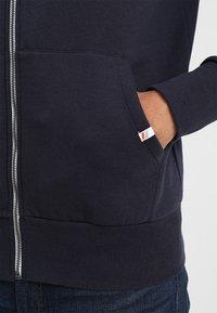 Superdry - Zip-up hoodie - american navy - 3
