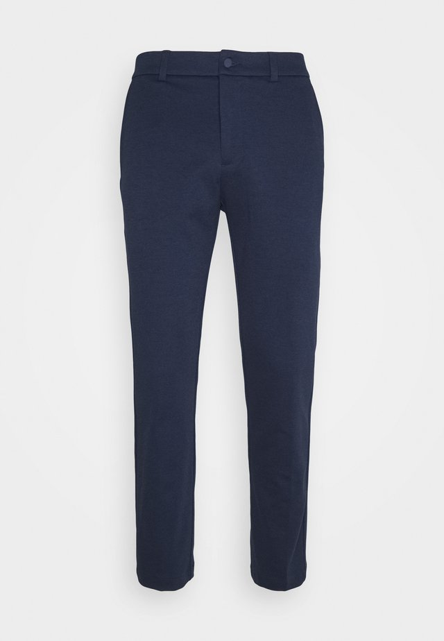 TAILORED TROUSER - Tygbyxor - navy