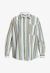 Quiksilver - Button-down blouse - surfing retreat stripe flclove - 3