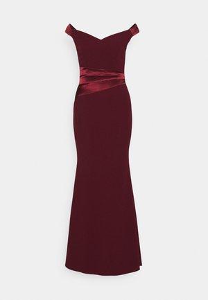 SELENE BAND MAXI - Occasion wear - wine