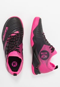 Kempa - WING LITE 2.0 WOMEN - Käsipallokengät - black/pink - 1