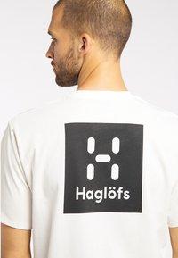 Haglöfs - Print T-shirt - soft white - 2
