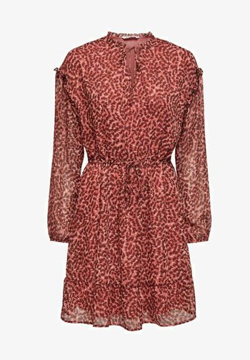 Day dress - faded rose