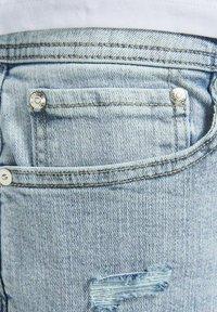 Jack & Jones - Denim shorts - blue denim - 7