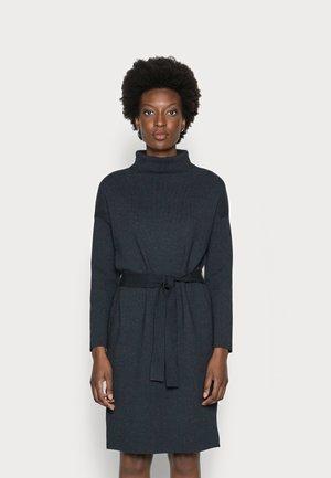 JOANNE TIE FRONT DRESS - Jumper dress - dark blue