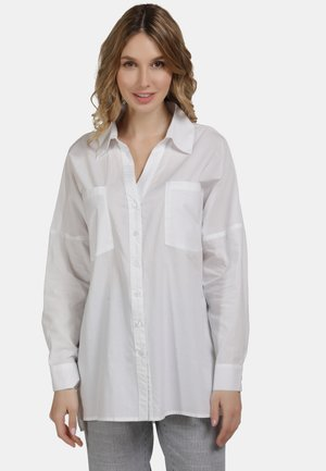 BLUSE - Button-down blouse - weiss