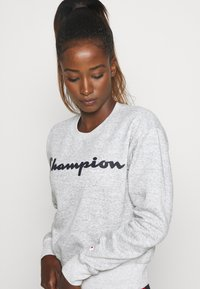 Champion - CREWNECK LEGACY - Collegepaita - mottled grey - 4