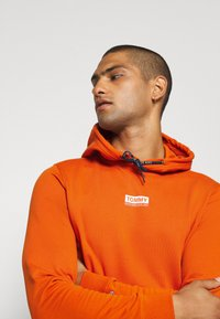 Tommy Jeans - ESSENTIAL GRAPHIC HOODIE - Sweat à capuche - bonfire orange - 4