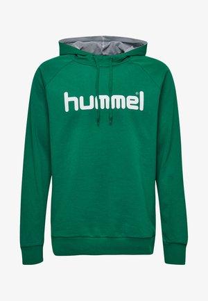 HMLGO  - Hoodie - evergreen