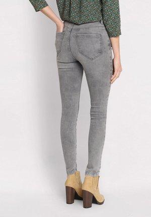Jeans Skinny Fit - grey denim