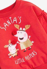 Next - PEPPA PIG CHRISTMAS SWEATSHIRT - Mikina - red - 2