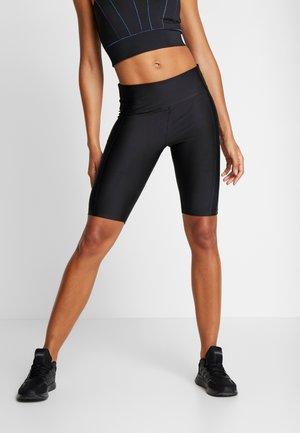 CYCLING LEGGING - kurze Sporthose - black