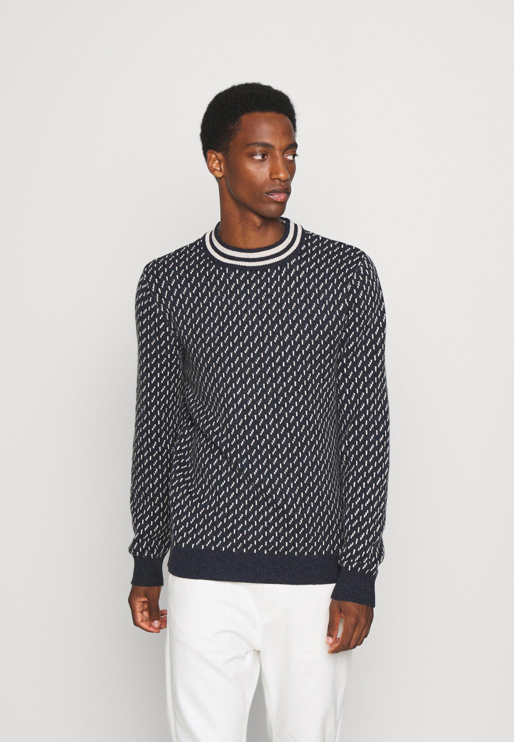 Homme SLHDASON CREW NECK - Pullover