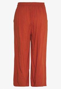 ONLY - ONLNOVA LIFE CROP PALAZZO PANT - Spodnie materiałowe - arabian spice - 1