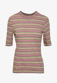 Marc O'Polo DENIM - OVERLONG SHORT SLEEVES STRIPE SLIM FIT - Print T-shirt - multi - 3