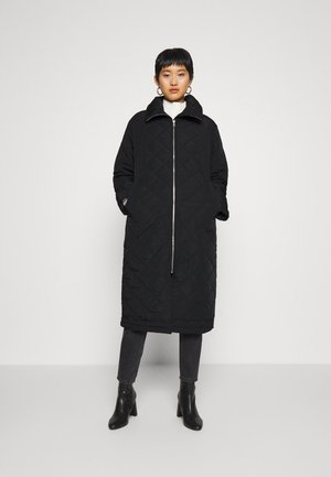 COAT ANDIE QUILT - Mantel - black