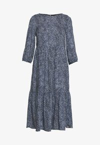 New Look Petite - SIOBAN ANIMAL TIER SMOCK MIDAXI - Day dress - blue - 4