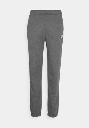 CLUB PANT - Pantalon de survêtement - charcoal heathr/anthracite/white