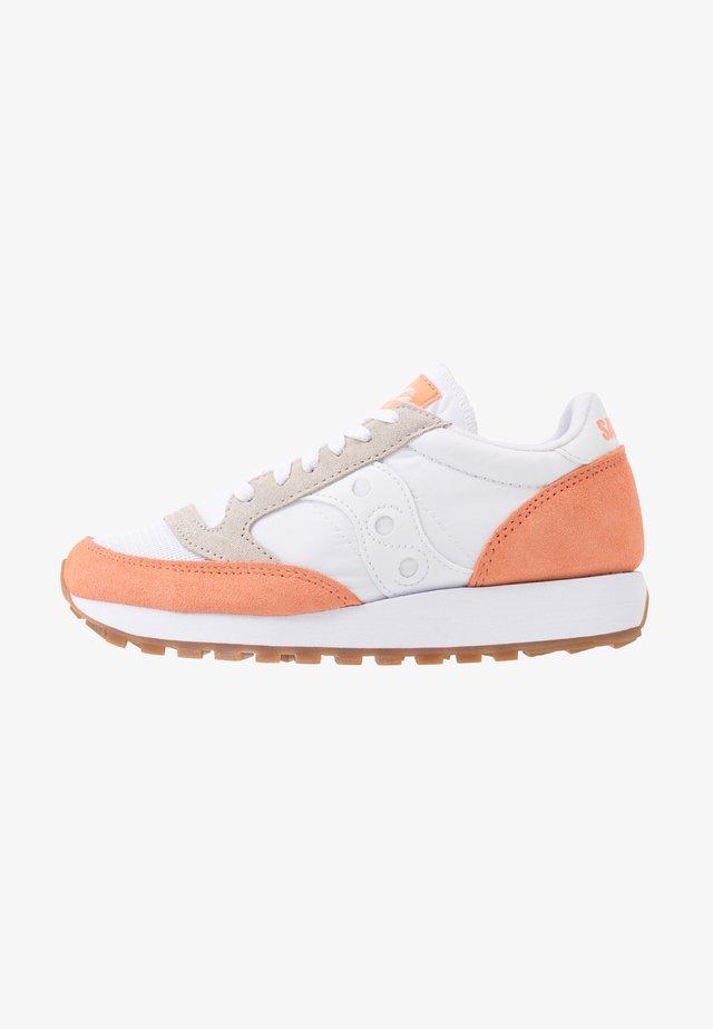 JAZZ VINTAGE - Sneakers laag - white/cantaloupe