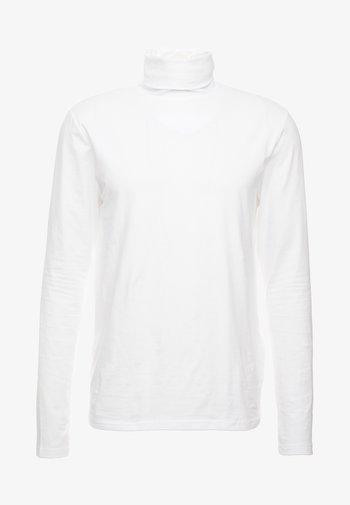 ONSMICHAN SLIM ROLLNECK TEE - Long sleeved top - white